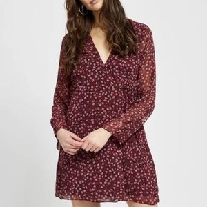 NWT All over Floral Wrap Dress 'Gentle Fawn'